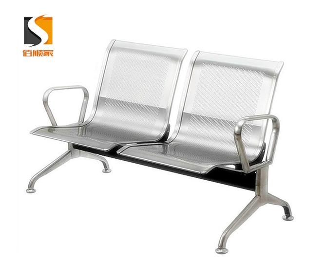 2人位不锈钢排椅